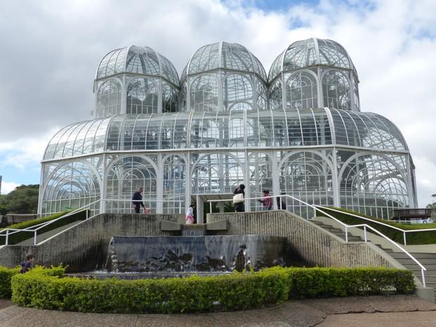 Jardim Botânico de Curitiba (Foto: Fernando Castro/G1)