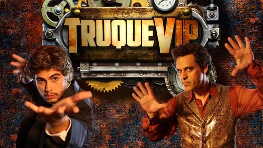 Rafael Vitti e Bruno Garcia se preparam para a grande final do 'Truque Vip': 'Vai ser páreo duro'
