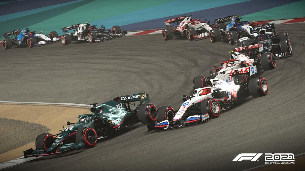 F1 2021 tem gráficos realistas e muita velocidade — Foto: Divulgação/EA