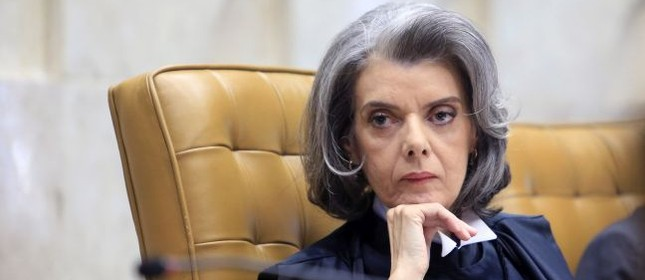 Cármen Lúcia, presidente do Supremo Tribunal Federal