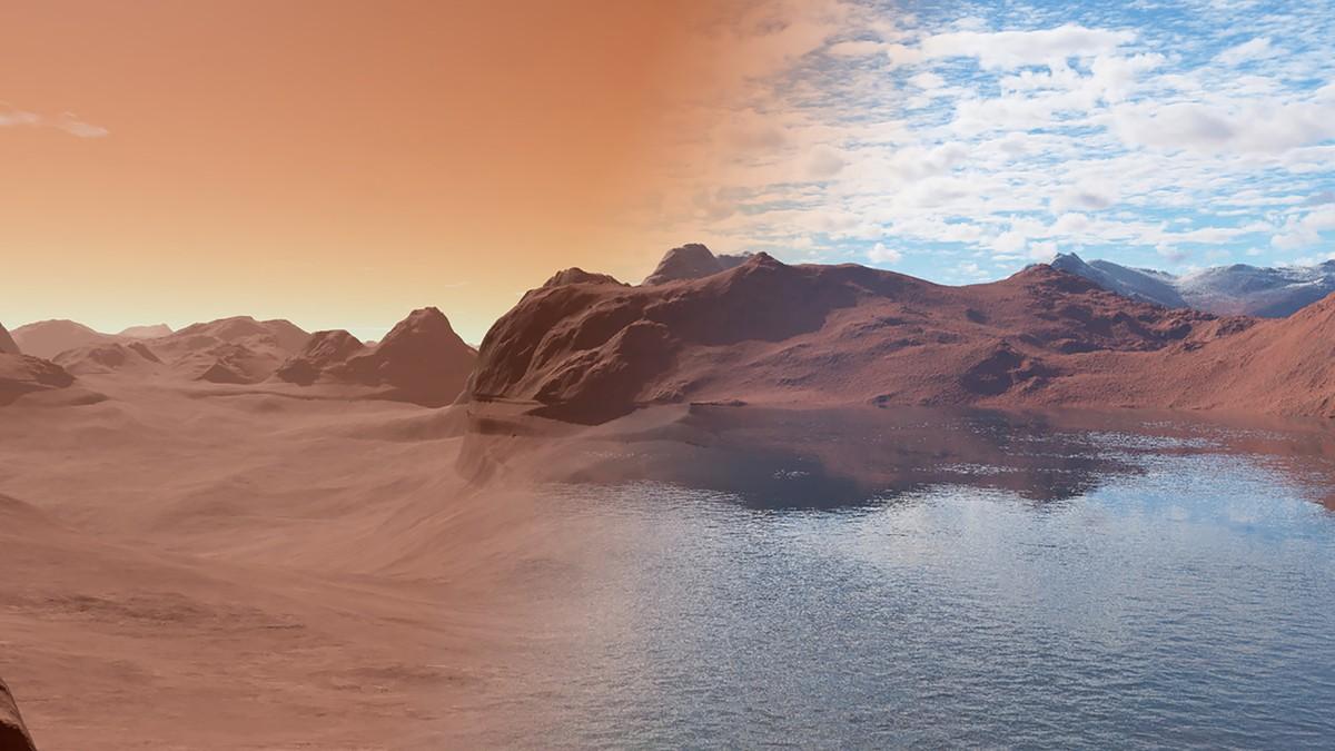 Rochas de Marte escondem água, diz estudo de Oxford