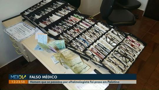 Falso médico oftalmologista e outras três pessoas são presos em Palotina