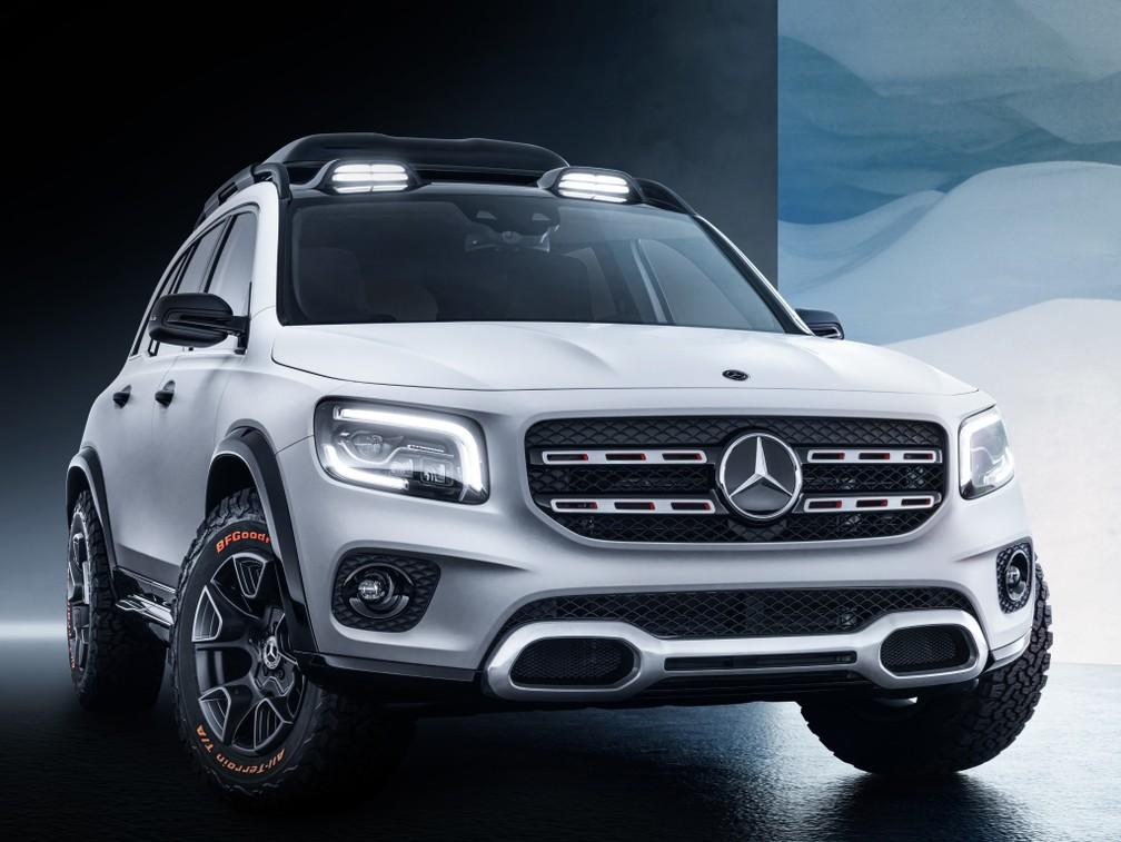 Mercedes-Benz GLB Concept — Foto: Divulgação/Mercedes-Benz