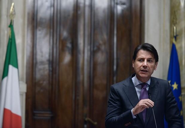 Giuseppe Conte (Foto: Simona Granati - Corbis/Corbis via Getty Images)