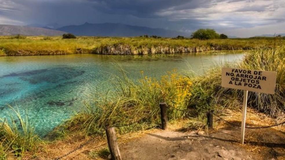 Cuatro Ciénegas é parte da Rede Mundial de Reservas da Biosfera, estabelecida pela Unesco — Foto: Getty Images/BBC
