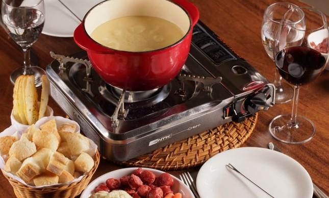 A fondue de queijo da Casa Julieta de Serpa