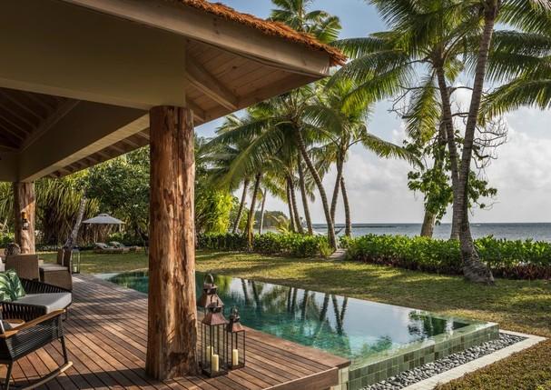 Four Seasons Resort em Desroches (Foto: Divulgação)
