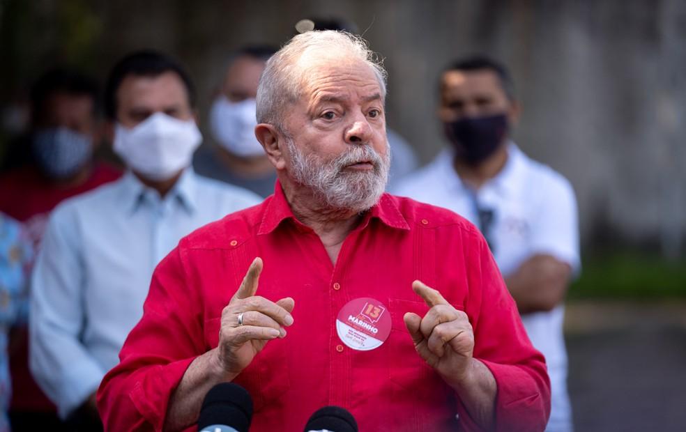O ministro Edson Fachin, do STF, anulou as condenações do ex-presidente Lula na Lava Jato — Foto: Marcelo Brandt/G1