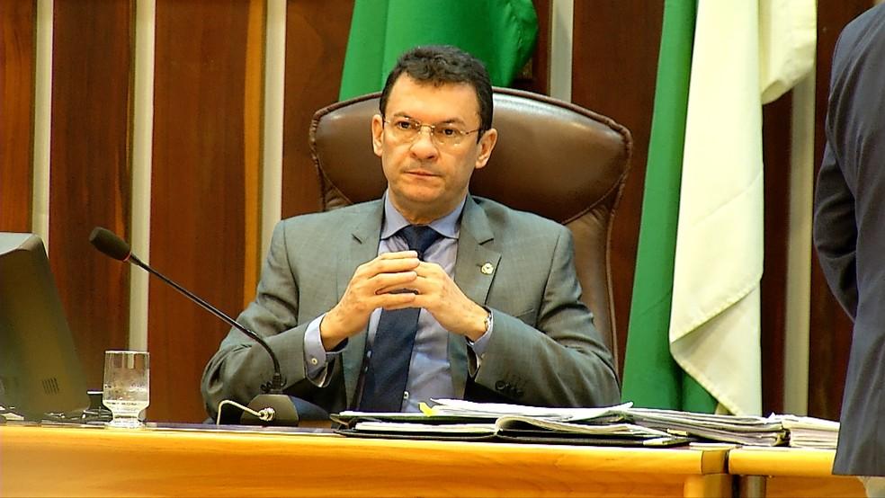 Parlamentar Dison Lisboa não vai poder concorrer às eleições deste ano (Foto: Reprodução / Inter TV Cabugi)