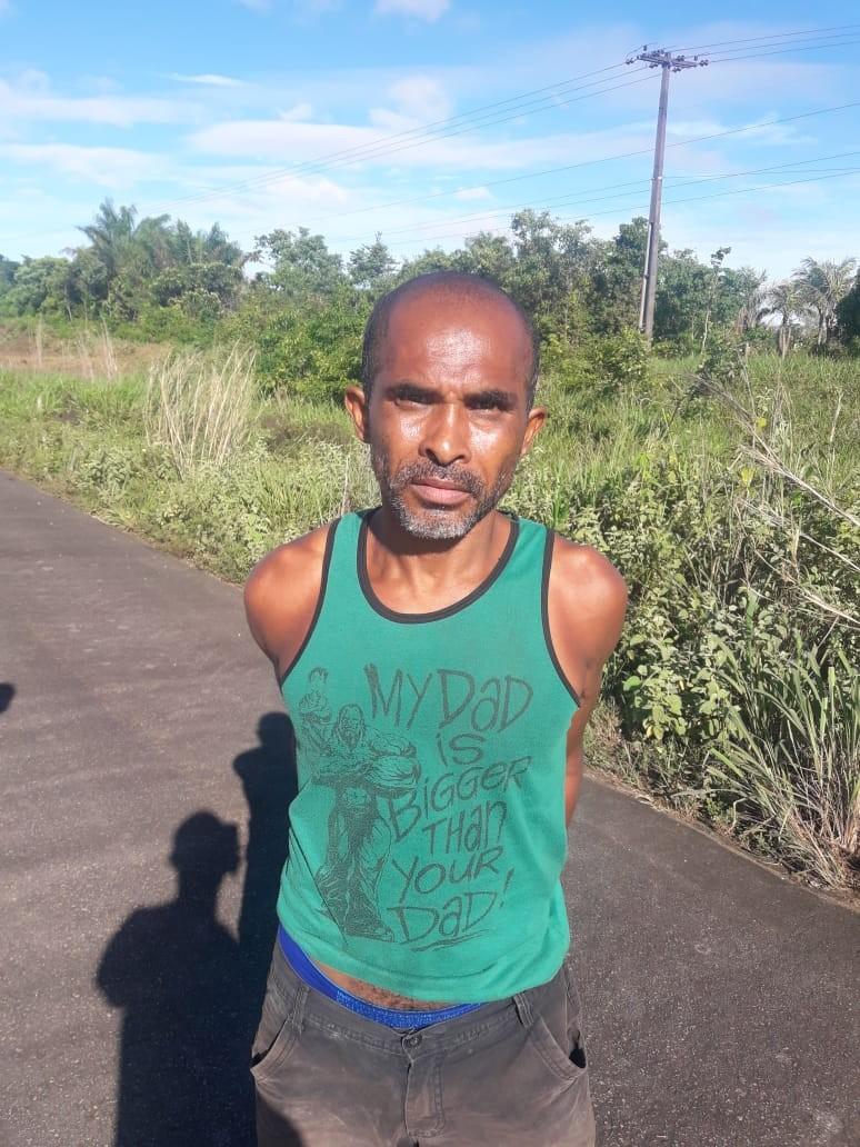 Suspeito de espancar e matar ex-mulher é preso em Iracema, no interior de RR