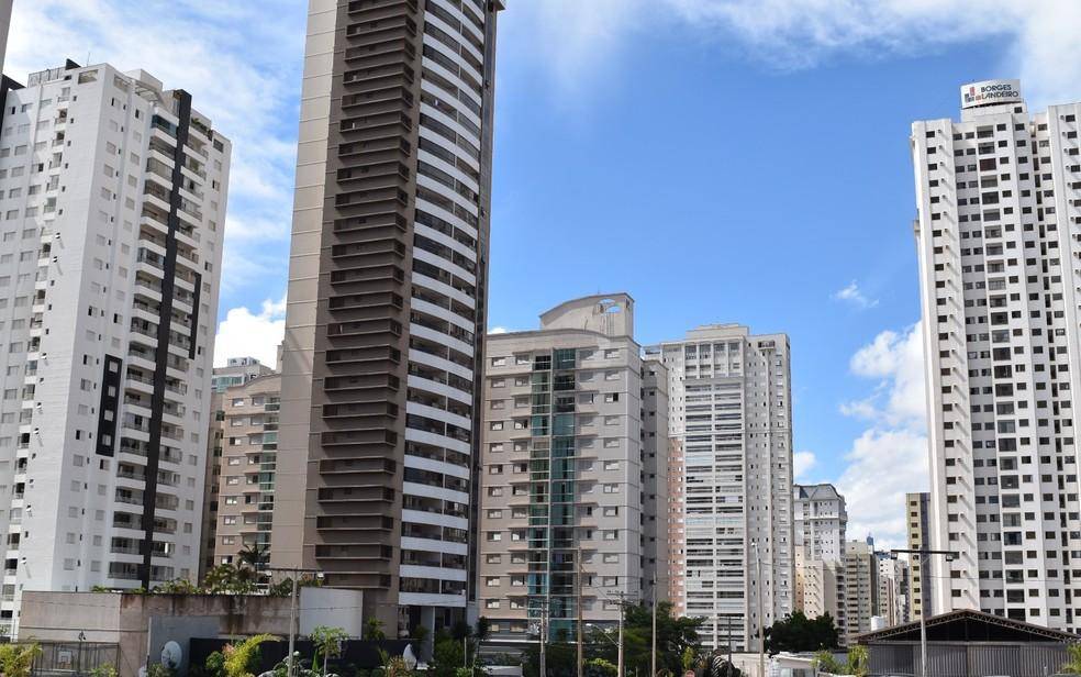 Imóveis em Goiânia, Goiás; no crédito imobiliário uma pequena redução de juro pode evitar o pagamento de milhares de reais (Foto: Paula Resende/ G1)