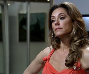 Christiane Torloni como Tereza Cristina em cena de 'Fina estampa'   Reprodução