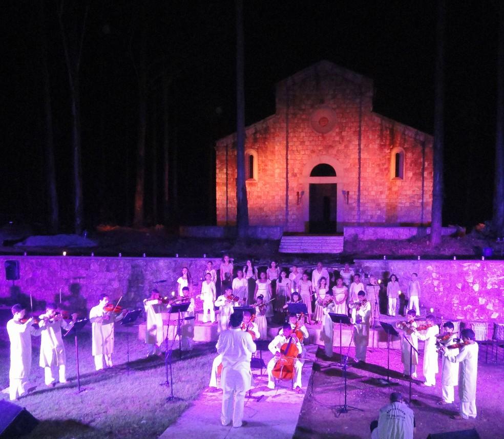 Coral e Orquestra São Miguel Arcanjo vão se apresentar na comemoração do padroeiro em Barbacena — Foto: Sociedade São Miguel Arcanjo/Divulgação