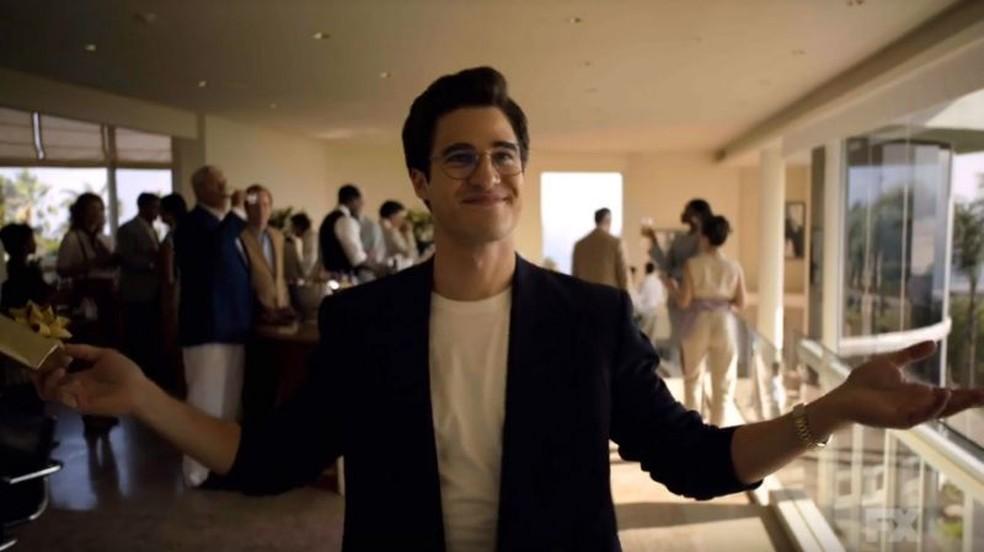 Darren Criss como Andrew Cunonan — Foto: Divulgação/FX