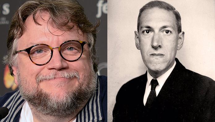 Guillermo del Toro e H.P. Lovecraft: diretor mexicano está há mais de uma década tentando adaptar os trabalhos do autor para o cinema (Foto: Wikimedia/GuillemMedina/Lucius B. Truesdell)
