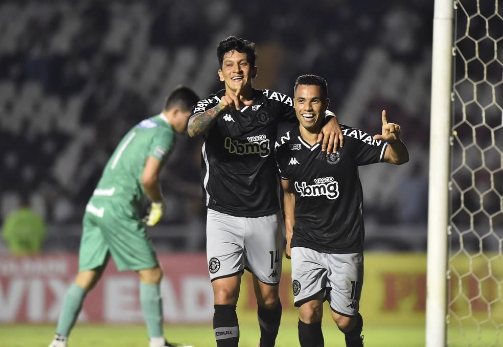 Morato abriu o caminho para vitória do Vasco sobre o Goiás — Foto: André Durão