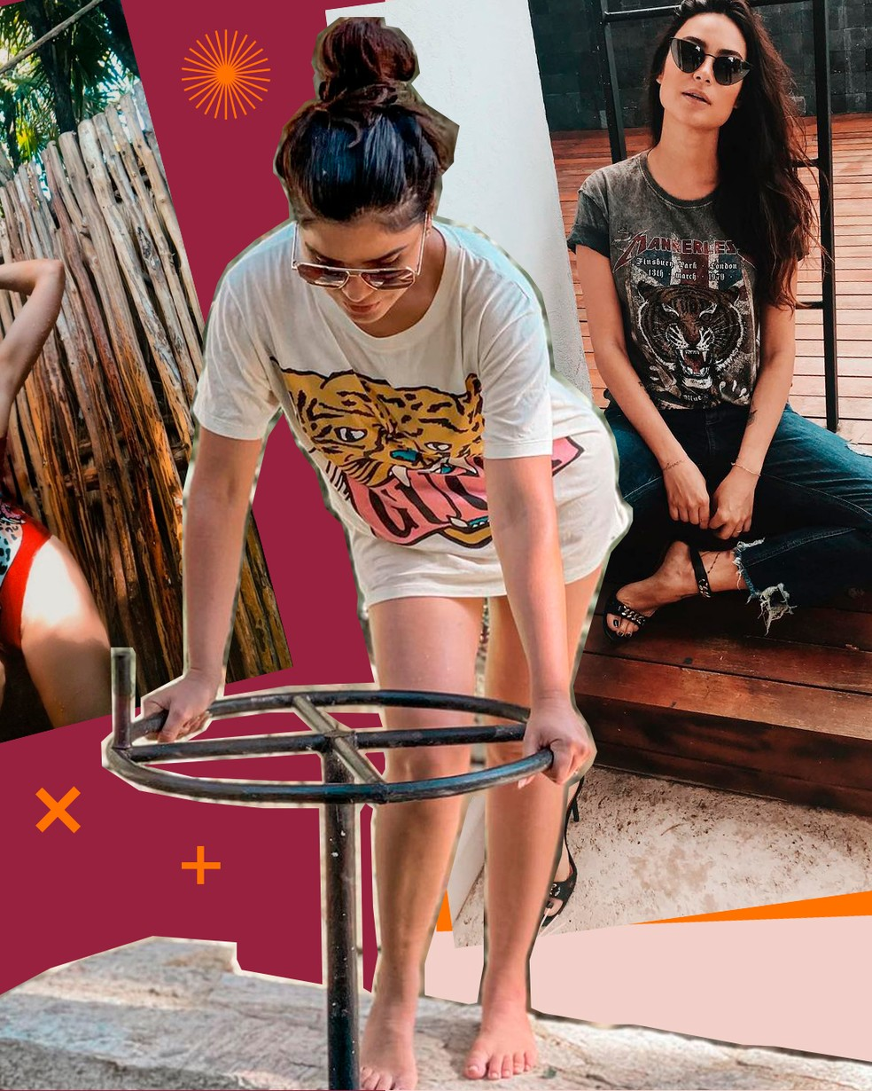 Vanessa Giácomo e Thaila Ayala — Foto: Arte Fernanda Garrafiel