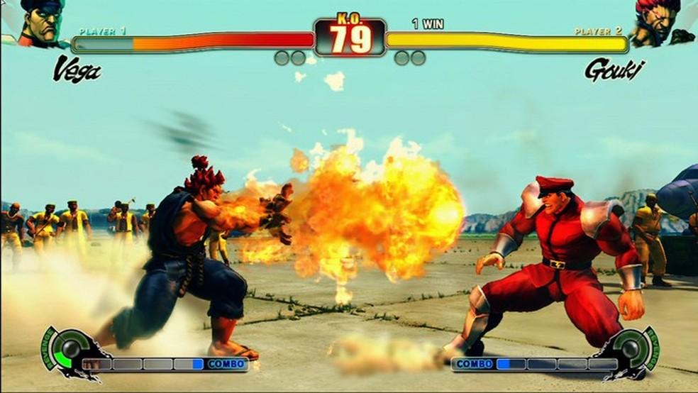 Lançamento de Street Fighter IV fez muitas pessoas entrarem no mundo das competições de jogos de luta — Foto: Divulgação/Capcom