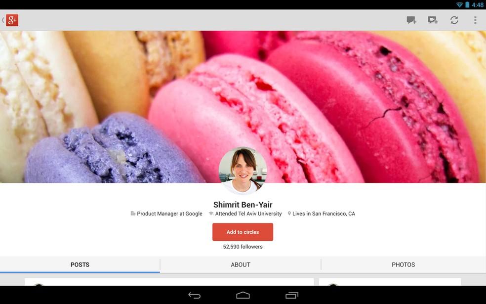 Google Plus — Foto: Reprodução/Google Plus
