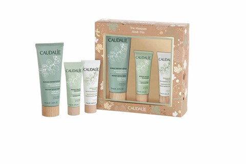 Kit máscaras Caudalie, R$199