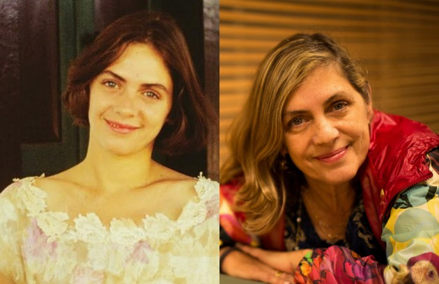 A cineasta Carla Camurati trabalhou como atriz na novela. Ela foi Marília, uma moça sofisticada, filha única de Donato (Elias Gleizer) (Foto: TV Globo/Daniel Marenco)
