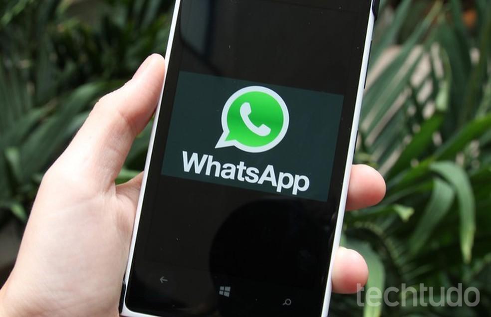 WhatsApp deixa de funcionar em celulares Windows Phone ainda em 2019 — Foto: Luciana Maline/TechTudo