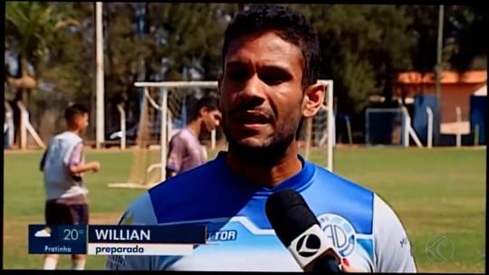Dínamo de Araxá encerra preparação para enfrentar o Atlético-MG no Mineiro sub-17