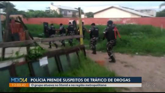 Polícia Militar prende mais de 20 em operação contra o tráfico de drogas no litoral do Paraná