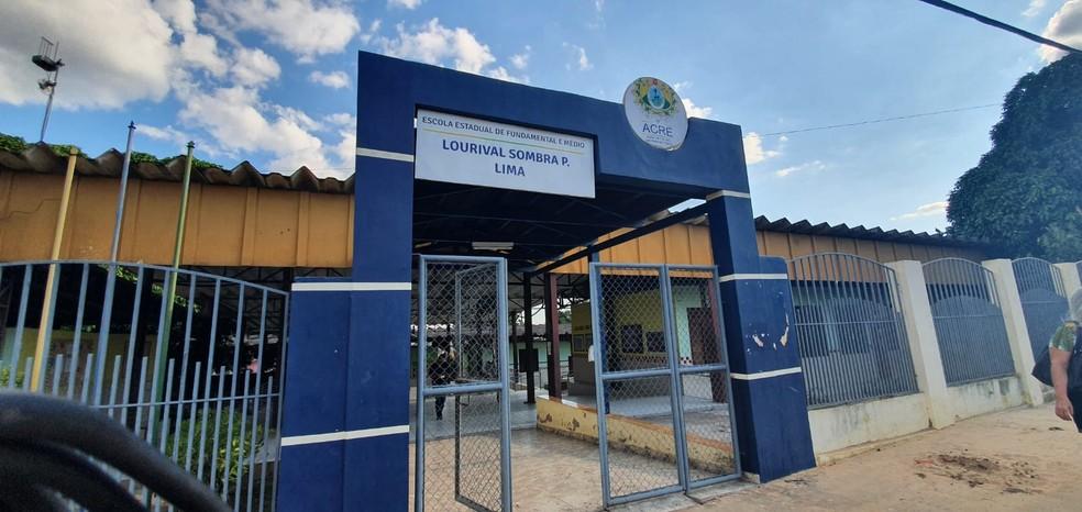 Aulas presenciais em escolas da rede pública do Acre serão retomadas no dia 4 de outubro, decide governo— Foto: Andryo Amaral/Rede Amazônica Acre