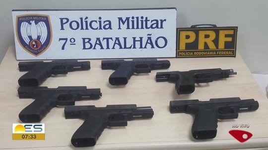 Jovem é preso suspeito de tráfico internacional de armas em Mimoso do Sul, ES