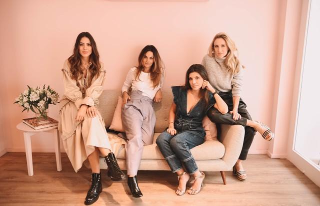Amanda Cassou, Adriana Pelosini, Fernanda Vidigal e Luiza Ortiz (Foto: Maria Fernanda Leal)