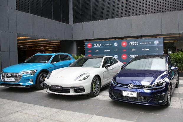Audi, Porsche e VW: elas querem que você tenha um carro elétrico (Foto: Divulgação)