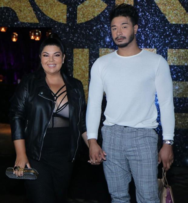 Fabiana Karla e Diogo Mello (Foto: Daniel Pinheiro/AgNews)