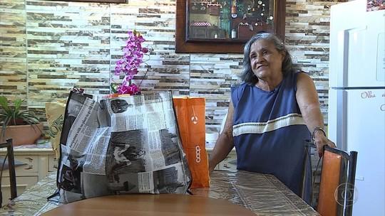 Diva Rosa Lima doa produtos de higiene e lenços para pessoas com câncer