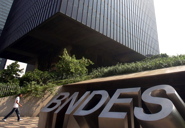 Headquarters of the National Development Bank (BNDES) in Brasília (Photo: Agência Brasil / Arquivo)