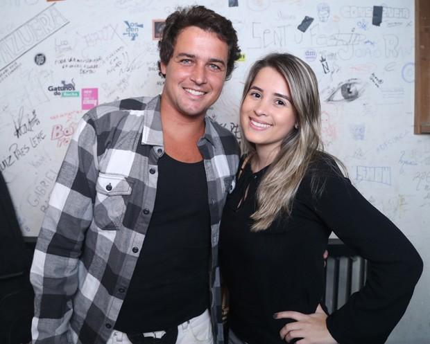 Felipe Dylon e Alana Marquez (Foto: Anderson Borde/AgNews)
