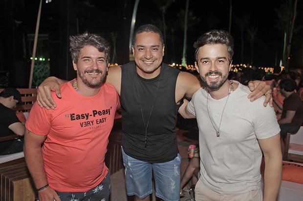 Kadito Rodrigues, Xandy Harmonia e Rafael Lobo (Foto: Vinicius Ramos/ Divulgação)