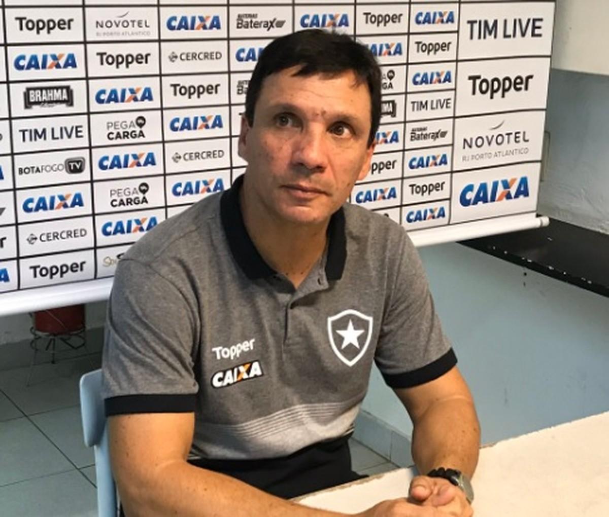 Zé Ricardo elogia coragem do Botafogo e fala em escalar Jefferson contra o  Paraná  d93cee9d21cce
