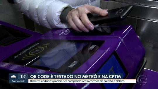 CPTM e Metrô de SP começam projeto-piloto para pagamento de tarifa com QR Code