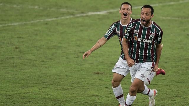 Gol de Nenê, Fluminense x Santos