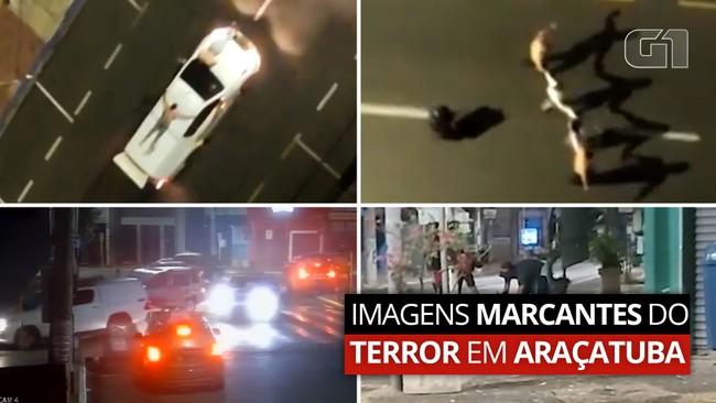 Terror em Araçatuba: saiba como foi o mega-assalto a agências bancárias