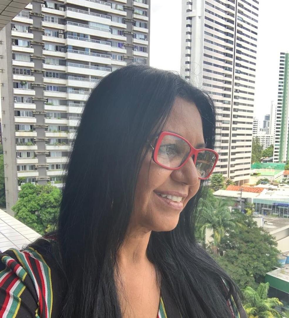 Sueli Gomes da Silva Rochedo, de 56 anos, tinha 16 quando teve seu bebê raptado no Hospital do Gama em 1981 — Foto: Divulgação