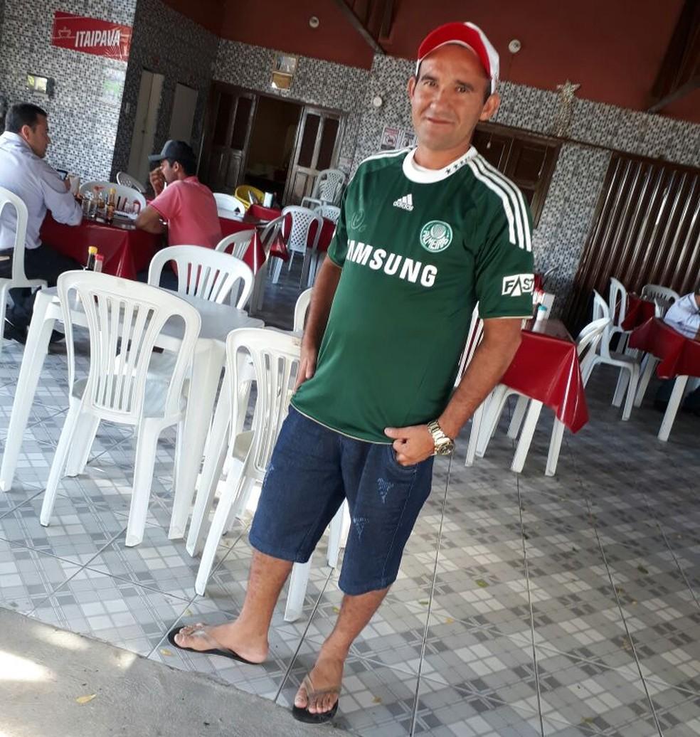 Egeneldo relembra a partida entre Corinthians e Palmeiras na final do Campeonato Paulista  (Foto: Arquivo Pessoal)
