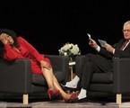   Oprah Winfrey e David Letterman/ Foto: AP Photo/Michael Conroy