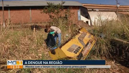 Mesmo no período de estiagem, preocupação com o Aedes aegypti gera alerta em Capinópolis
