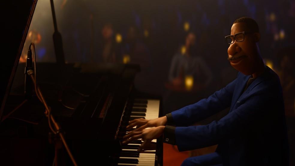 Cena de 'Soul', animação da Pixar indicada ao Oscar — Foto: Divulgação