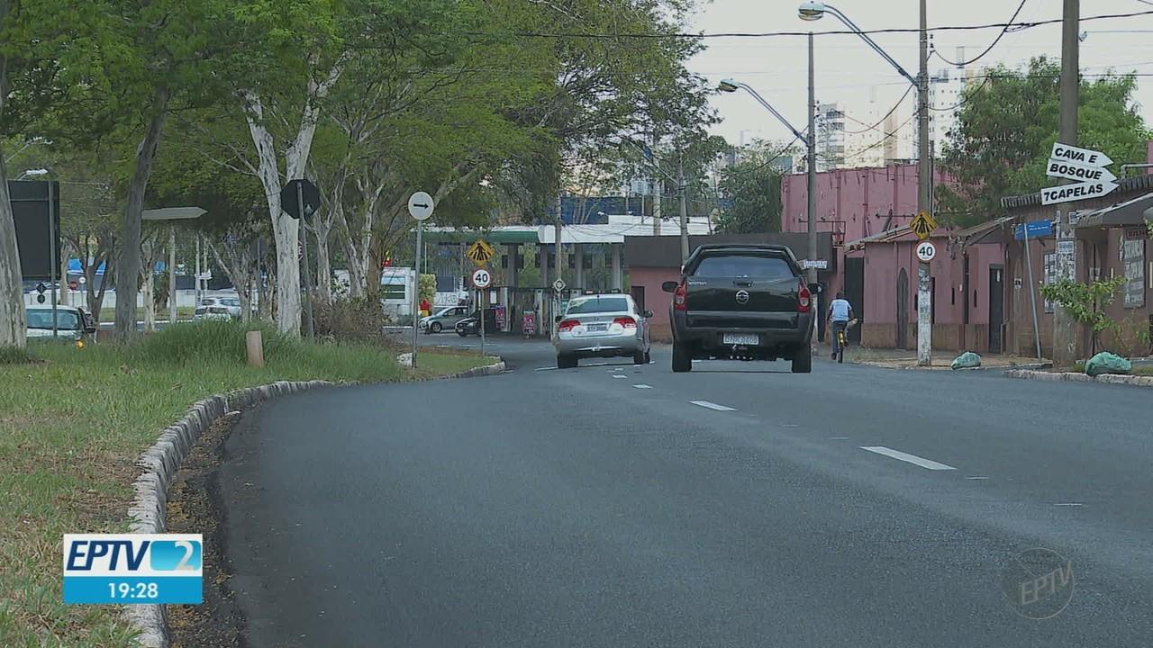 Termômetro de avenida na zona Norte de Ribeirão Preto, SP, marca 46°C nesta quinta-feira (
