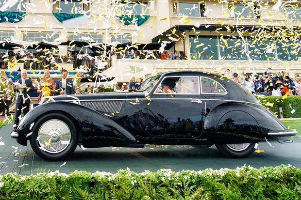 O Alfa Romeo 2900B 1937 foi considerado o melhor em Pebble Beach (Foto: Divulgação)