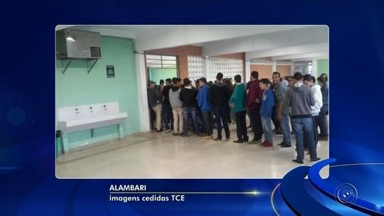 TCE flagra pombos em refeitório e comida vencida em escolas no interior de SP
