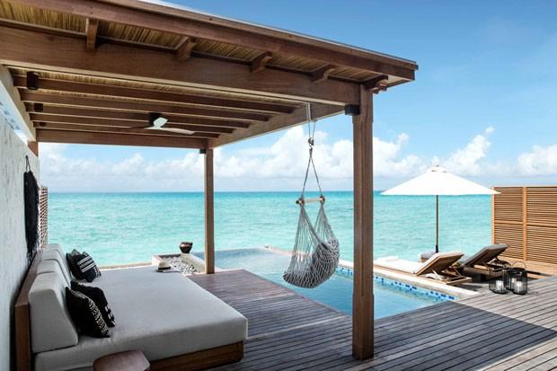 Primeira galeria de arte submersa do mundo é instalada nas Maldivas (Foto: Divulgação)